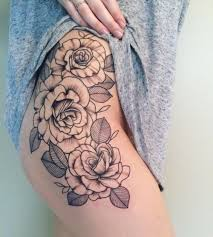 the 25 best rose tattoos ideas on pinterest thigh tattoo