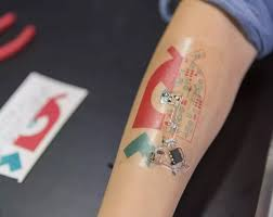 are electronic ink tattoos real tattoos