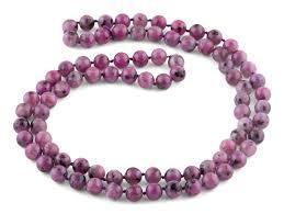 purple gemstone necklace images 32 quot 8mm purple quartz round gemstone bead necklace png