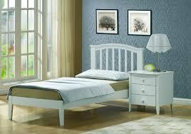 joseph lana 3ft single white wooden bed frame by joseph international