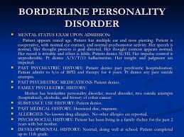 mental status exam example borderline plymouth dome