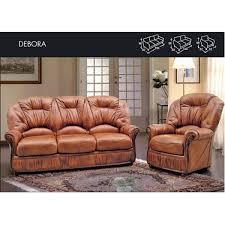 Uk Leather Sofas Deborah Genuine Italian Leather Sofa