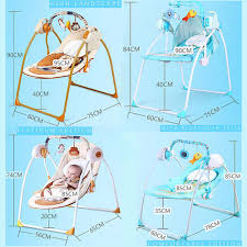 Swinging Lounge Chair Bluetooth Remote Control Baby Toddler Swing Newborn Rocking Chair