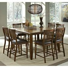 9 piece dining table set arlington 9 piece counter height dining set room sets