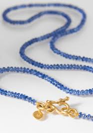sapphire bead necklace images Denise betesh blue sapphire bead necklace santa fe dry goods jpg