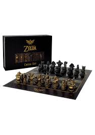 Metal Chess Set by The Legend Of Zelda Chess Set