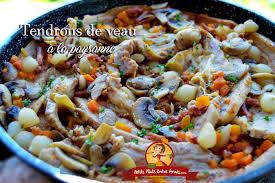 comment cuisiner le tendron de veau recette de tendrons de veau à la paysanne petits plats entre amis