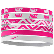 pink headbands nike accessories printed headbands assorted 6 pack buy and offers