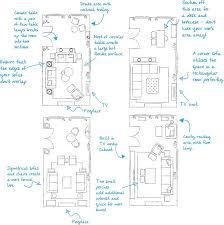 furniture layouts rectangular sitting room long narrow lounge floor plan