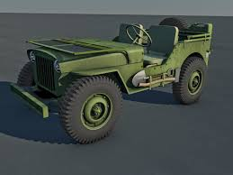military jeep png 3d model us army jeep cgtrader
