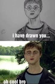Daniel Radcliffe Meme - 61 i ve drawn you daniel radcliffe pmslweb