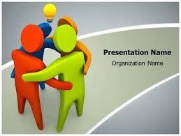 colorful teamwork animated powerpoint template 19 best images