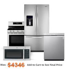 exciting stainless steel appliances package deals 39 with