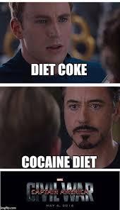 Coke Memes - marvel civil war 1 meme imgflip