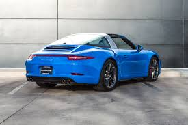 blue porsche 911 2016 porsche 911 targa 4s for sale in colorado springs co 16201