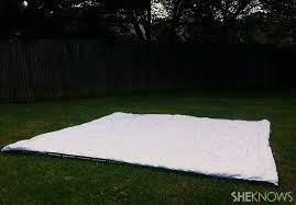 Build A Backyard Fort How To Build A Backyard Pillow Fort