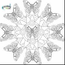 amazing geometric shapes coloring page with free printable