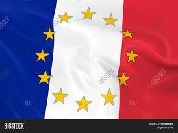Flag With Yellow Star France Eu Member Concept Image 3d Image U0026 Photo Bigstock