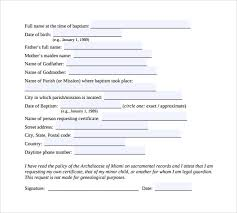 doc 600615 sample baptism certificate template u2013 20 sample