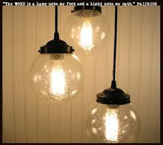 seeded glass light fixtures seeded glass pendant chandelier light trio glass pendants pendant
