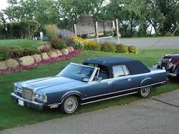Old Lincoln Town Car 1987 Lincoln Continental Town Car Cameo Coach View On Blac U2026 Flickr