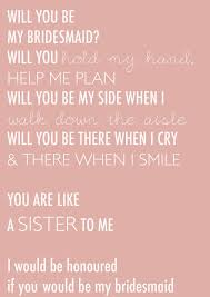 how to ask of honor poem best 25 letter to bridesmaid ideas on bridesmaid