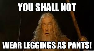 Leggings Meme - 6 reasons why leggings are pants