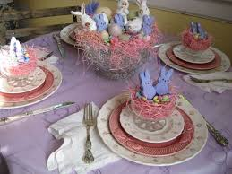 Easter Table Decorations With Peeps by 129 Best Easter Tablescapes Images On Pinterest Easter Ideas