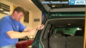 ford focus boot struts how to install replace tailgate strut support ford explorer sport