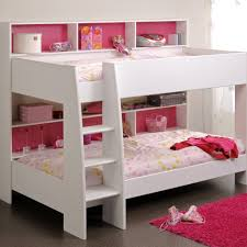 Parisot Tam Tam  White Bunk Bed With Optional Drawer  Family Window - White bunk bed with drawers