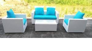 Caribbean White Wicker Outdoor PE Rattan Wicker Patio Furniture - White wicker outdoor furniture