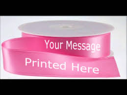printed ribbon personalised printed ribbons custom printed ribbon in the uk