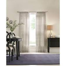Martha Stewart Curtains Home Depot Paradise 84 Inch Room Darkening Grommet Top Window Curtain Panel