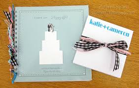 wedding wish book confetti by husband happy