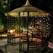 decoration garden patio lights led outside house lights solar