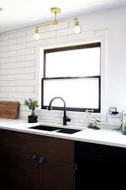 diy light fixture double brass flush mount