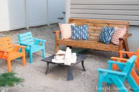 Free Plans For Patio Chairs by Easy Diy Kids Patio Chairs A Houseful Of Handmade