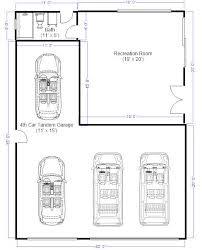 size of a 3 car garage 4 car garage dimensions home design