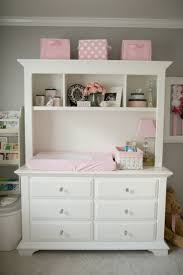 Baby Change Table Pad Pink White Changing Table Dresser Home Inspirations Design
