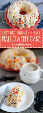 halloween cakes recipe halloween rice krispie treat cake recipe eating richly