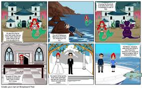 mermaid storyboard storyboard jamie1616