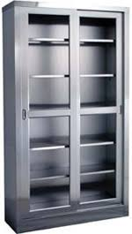 Stainless Steel Medicine Cabinet by Medical Cabinets