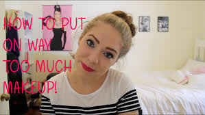 how much is makeup school how to put on way much makeup