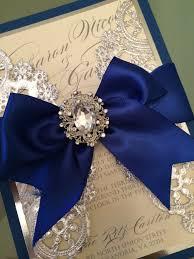 Royal Blue Wedding Invitations Wedding Invitations Royal Blue And Silver By Alexandrialindo