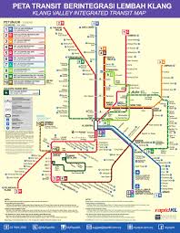 Singapore Subway Map by Lrt Monorail Kuala Lumpur Metro Map Malaysia