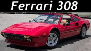 1984 ferrari 308 gtsi quattrovalvole full tour u0026 start up 4k