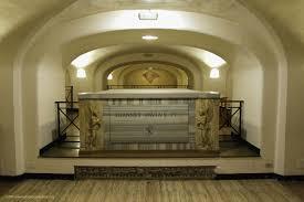 the tomb of john paul i vatican grottoes