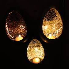 Mosaic Wall Sconce Metallic Metal Mosaic Tea Light Candle Wall Sconce U2013 Candlestock