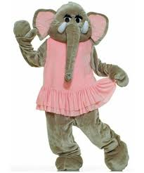 plush elephant mascot costume costume animal halloween