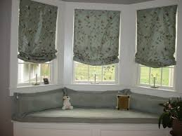 grey fabric window seat added by grey fabric window blinds of